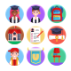 50 University Icons - GraphicRiver Item for Sale