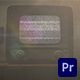 Old TV Glitch Logo Reveal   For Premiere Pro - VideoHive Item for Sale