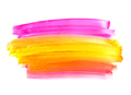 Bright watercolor paint shape on white background - PhotoDune Item for Sale