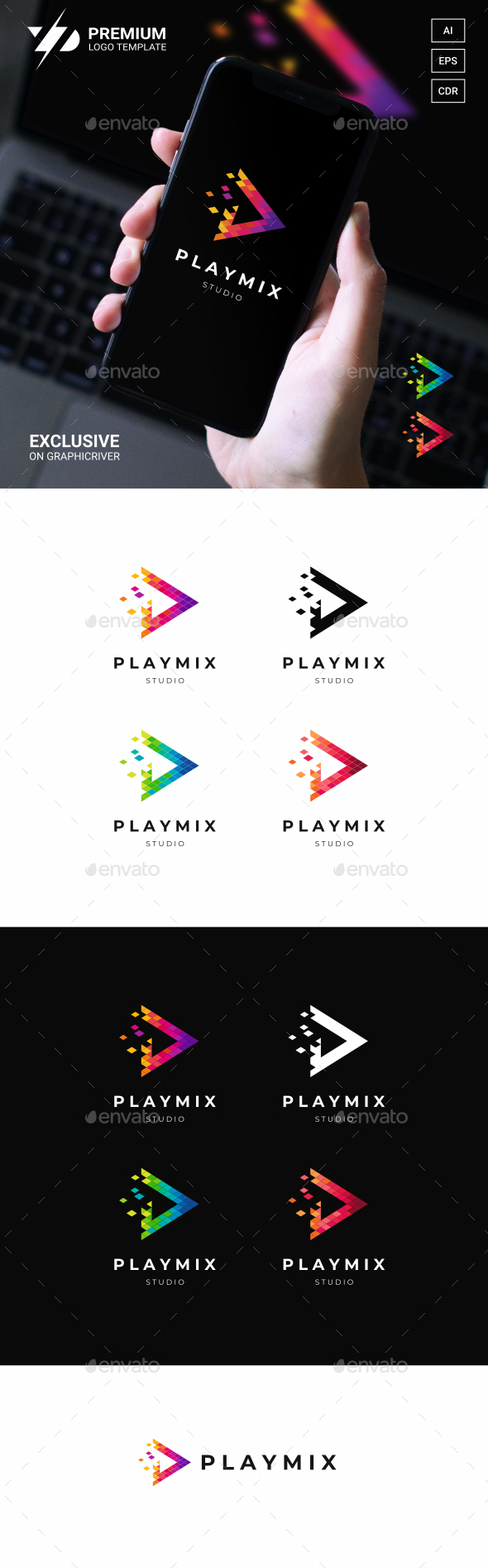 Play Logo Template