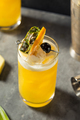 Refreshing Boozy Yellow Bird Cocktail - PhotoDune Item for Sale