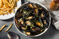 Homemade Moules Frites Mussels and Fries - PhotoDune Item for Sale