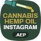Cannabis Hemp Oil Products Instagram Sotires - VideoHive Item for Sale