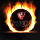 Burning Logo Reveal - VideoHive Item for Sale
