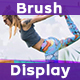 Brush Video Display - VideoHive Item for Sale