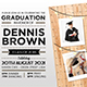 Graduation Invitation - GraphicRiver Item for Sale