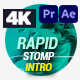 Stomp - Rapid Intro - VideoHive Item for Sale
