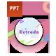 Extrada Creative Pastel Presentation Template - GraphicRiver Item for Sale
