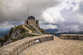 Petar Petrovic Njegos Tomb at national park Lovcen Montenegro. Sunny summer day - PhotoDune Item for Sale