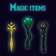 Magic items - GraphicRiver Item for Sale