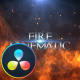 Fire Cinematic Titles - DaVinci Resolve - VideoHive Item for Sale