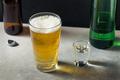 Boozy Refreshing Soju Bomb Cocktail - PhotoDune Item for Sale