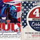 4th of July Party Flyers bundle - GraphicRiver Item for Sale