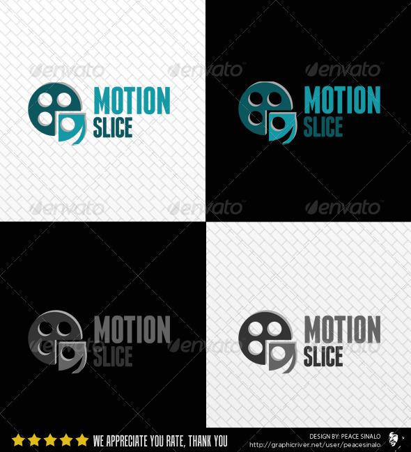 Motion Slice Logo Template
