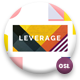 Leverage - Color Geometry Google Slides Template - GraphicRiver Item for Sale