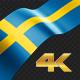 Long Flag Sweden - VideoHive Item for Sale