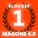 MagOne - Responsive News & Magazine Blogger Template - ThemeForest Item for Sale