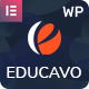 Educavo - Online Courses & Education WordPress Theme - ThemeForest Item for Sale