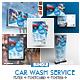 Car Wash Promotional Bundle Print Template - GraphicRiver Item for Sale