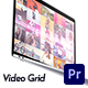 Video Grid Logo Reveal   For Premiere Pro - VideoHive Item for Sale
