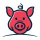Pig Logo - GraphicRiver Item for Sale