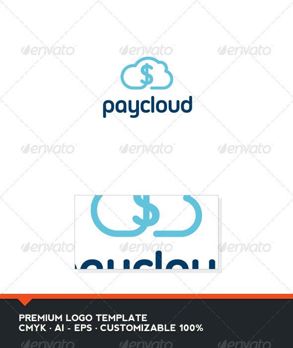 Pay Cloud Logo Template