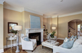 spacious livingroom with fireplace and tasteful furniture. - PhotoDune Item for Sale