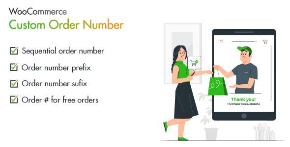 WooCommerce Custom Order Number