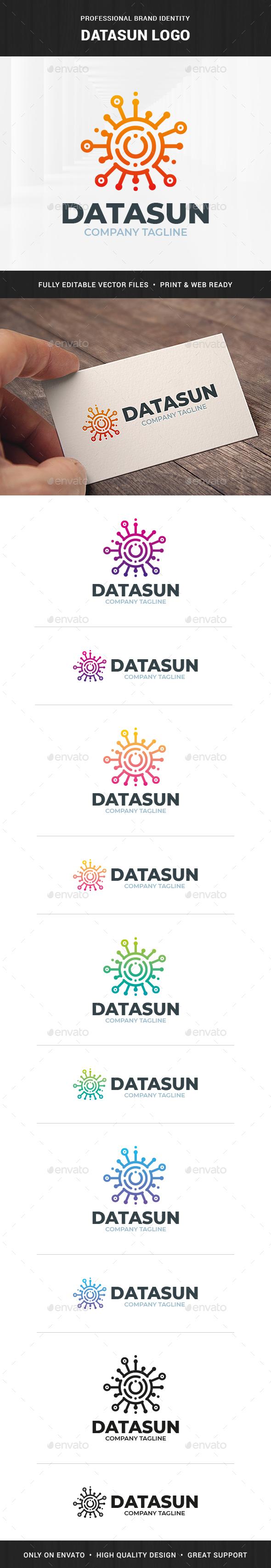 Datasun Logo Template
