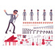 Musician Jazz Pop Man Singing Playing Musical - GraphicRiver Item for Sale