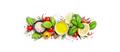 Spices and herbs. Tomato, basil, pepper, garlic, onion, thyme, lime, lemon, salt. - PhotoDune Item for Sale