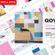 Govent - Creative Business Powerpoint Template - GraphicRiver Item for Sale