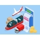 Isometric Insurance Policy Concept - GraphicRiver Item for Sale