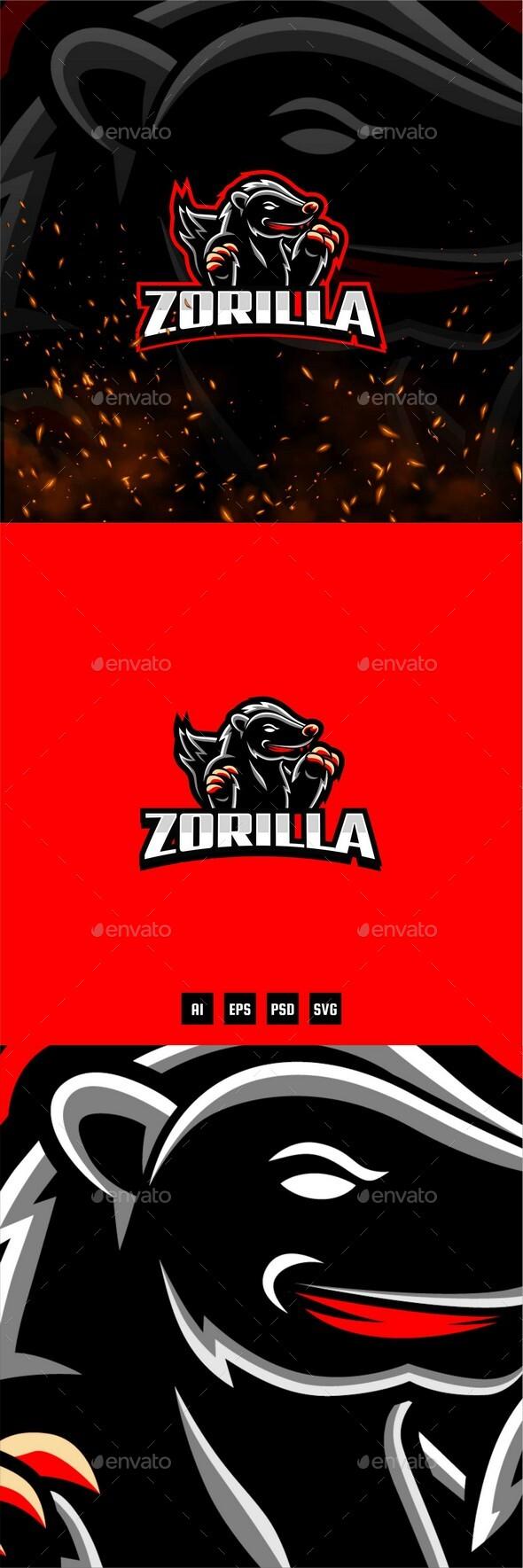 Zorilla E-Sport and Sport Logo Template
