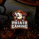 Potato Gaming E-Sport and Sport Logo Template - GraphicRiver Item for Sale