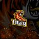 Tiger E-Sport and Sport Logo Template - GraphicRiver Item for Sale