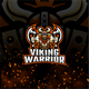 Viking Warrior E-Sport and Sport Logo Template - GraphicRiver Item for Sale