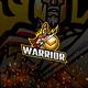 Warrior E-Sport and Sport Logo Template - GraphicRiver Item for Sale