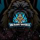 Werewolf E-Sport and Sport Logo Template - GraphicRiver Item for Sale