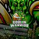 Goblin Warrior E-Sport and Sport Logo Template - GraphicRiver Item for Sale