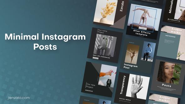 Minimal Instagram Posts