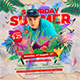 Saturday Summer Dj Party Flyer - GraphicRiver Item for Sale