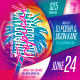 Tropical Party Flyer - GraphicRiver Item for Sale
