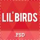Lil'Birds -- unique PSD Template - ThemeForest Item for Sale