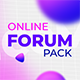 Online Forum Package - VideoHive Item for Sale