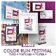 Color Run Event Bundle Print Templates - GraphicRiver Item for Sale