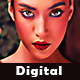 Digital Art Painting Action - GraphicRiver Item for Sale