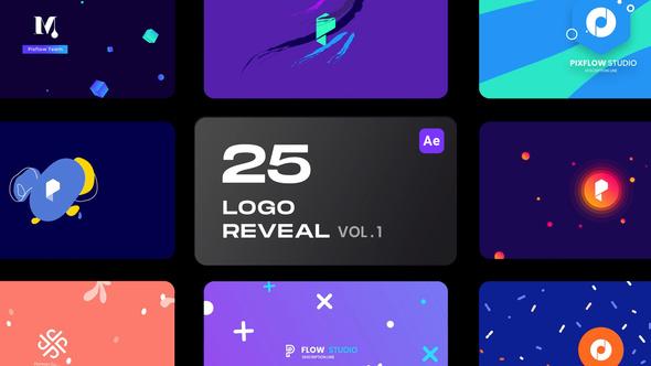 25 Logo Reveal Bundle