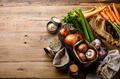 Healthy food Ingredients for mushroom soup - PhotoDune Item for Sale