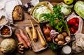 Healthy food vegetables Eco-friendly packaging - PhotoDune Item for Sale